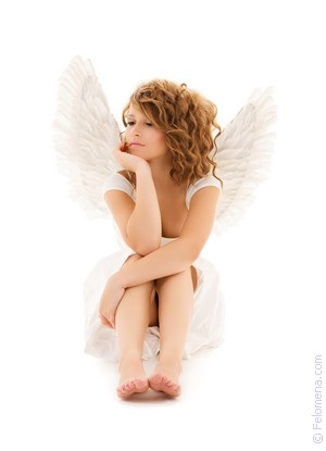 Ангел с крыльями по соннику