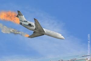 Авиакатастрофа со стороны по соннику