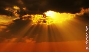 Лучи солнца по соннику