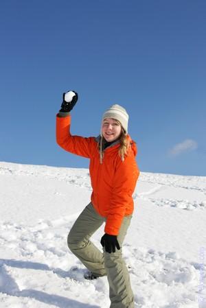 играть в Снежки по соннику