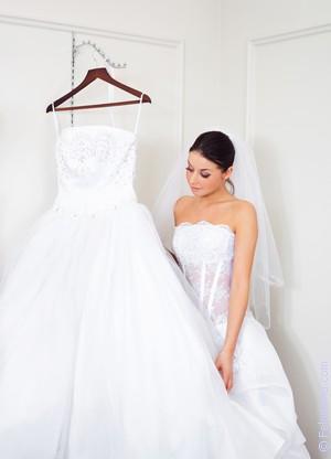 Свадебное платье розовое по соннику