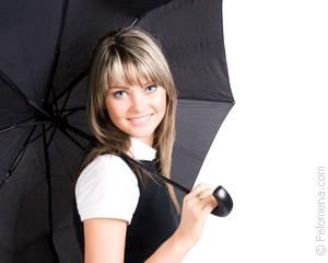 Сонник зонтик белый