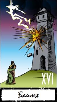 Толкование и значение карты Таро Башня
